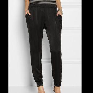 Clu Silk Blend Jogger Pants